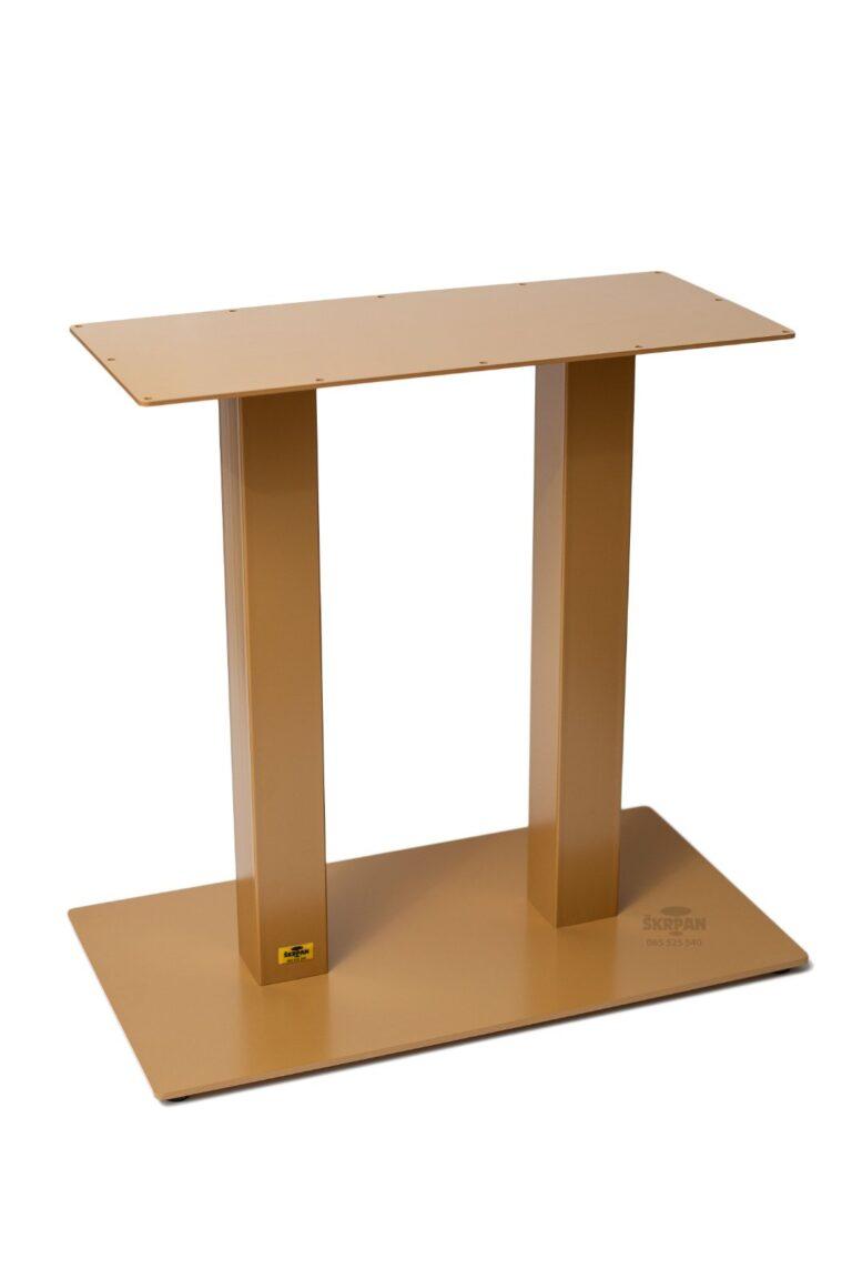 Metalno postolje za sto, duplo postolje, sto za restoran, ugostiteljski stolovi, restoranski stolovi